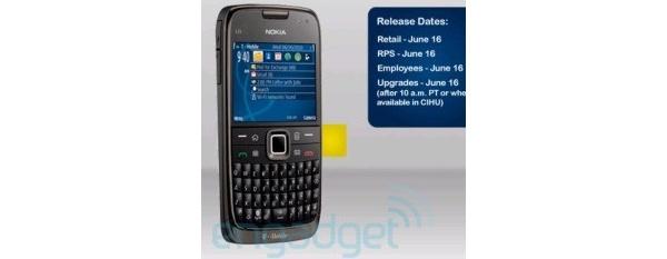 Nokia E73 vuoti nettiin