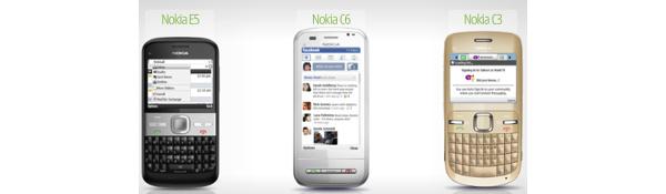 Nokialta kolme uutta puhelinmallia