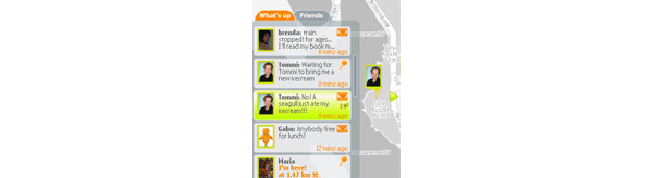 Nokian Friend View kertoo missä kaverit ovat