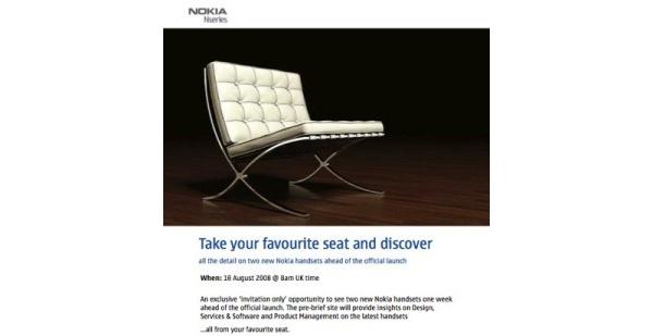 Nokia julkistaa kaksi N-sarjalaista 25. elokuuta