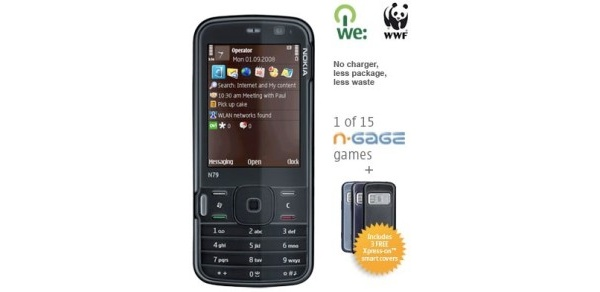 Nokialta myyntiin puhelin ilman laturia