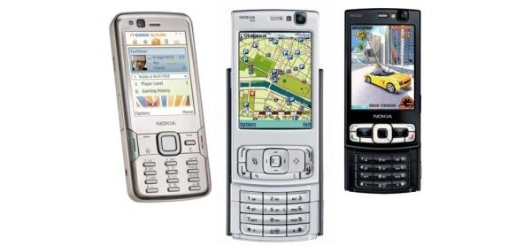 Nokia julkaisi päivitykset N82:lle, N95:lle ja N95 8GB:lle