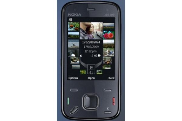 Nokian N86-kamerapuhelin vuosi nettiin
