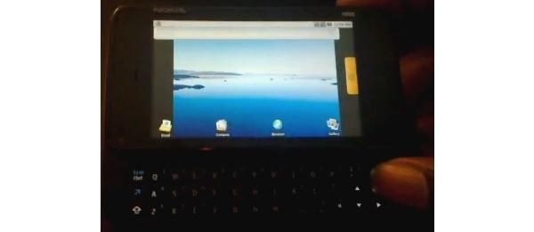 Videolla Nokian Android-puhelin