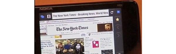 Mozillan mobiili-Firefox lähenee valmistumista - aluksi Nokian N900:lle