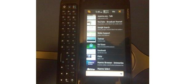 Videolla: bugi ajoi Nokia N900 pystynäyttötilaan