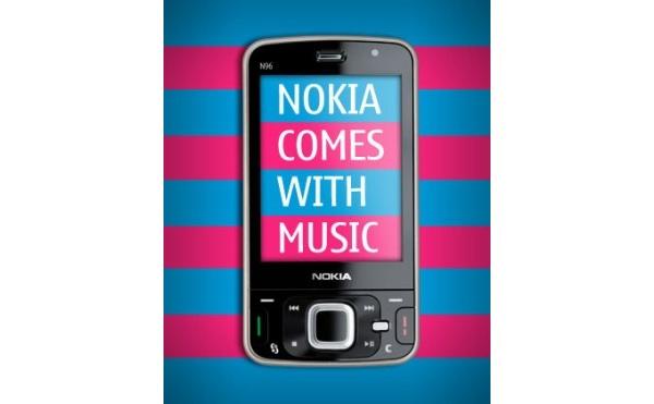 Nokian N96 mukaan Comes with Music -tarjontaan