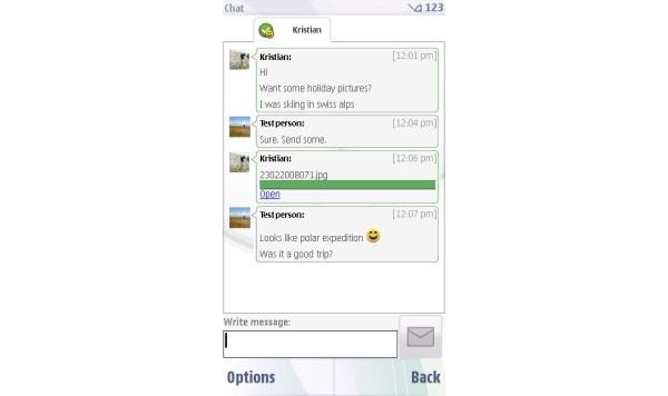 Nokialta päivitys myös Ovi Contacts -sovellukseen