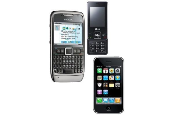 Sekä Nokialta, Applelta että LG:ltä heikot puhelinluvut