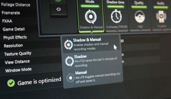 Nvidia julkaisi GeForce 331.65 -ajurit: tallenna parhaat pelihetket uudella ShadowPlaylla