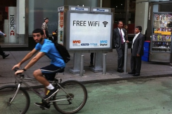 New York making payphone booths into Wi-Fi hotspots