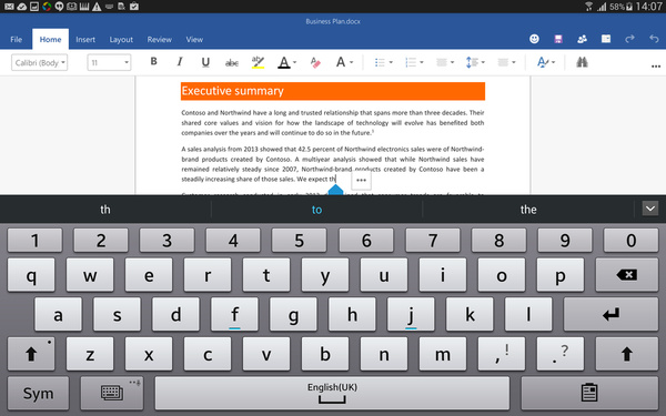 Microsoft expands its Office preview for Android on tablets to everyone