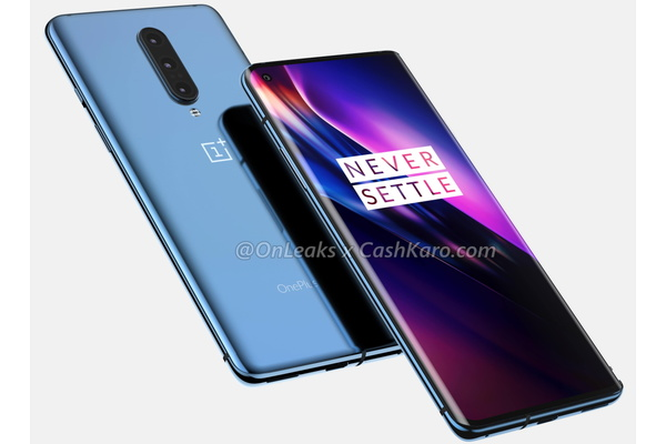 OnePlus 8 leak shows punch-hole cam in display, wireless charging