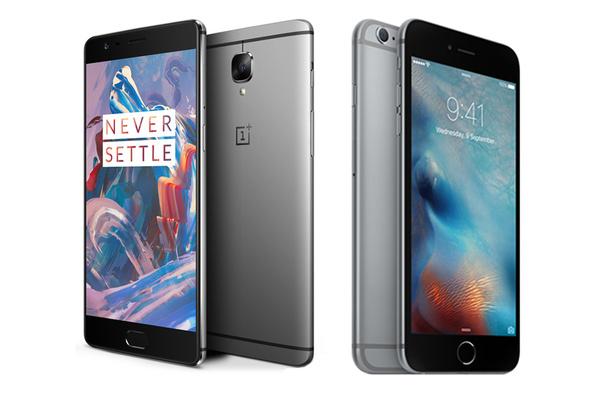 Kumpi kannattaa ostaa, OnePlus 3 vai iPhone 6s Plus?