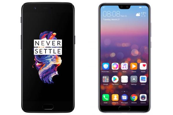 Kasvojentunnistustesti: OnePlus vastaan Huawei