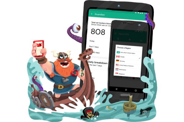 Piilota verkkoliikenteesi: Operan ilmainen VPN-palvelu julkaistiin Androidille