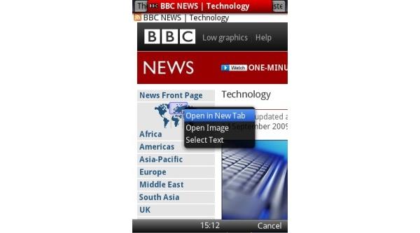 Opera Mini -mobiiliselaimesta uusi versio