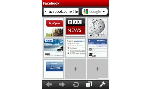 Opera Mobile 10:n testiversio nyt myös Windows Mobilelle