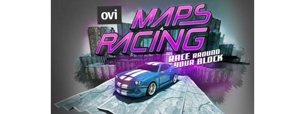 Nokian lokaatiopohjainen Ovi Maps Racing ladattavissa