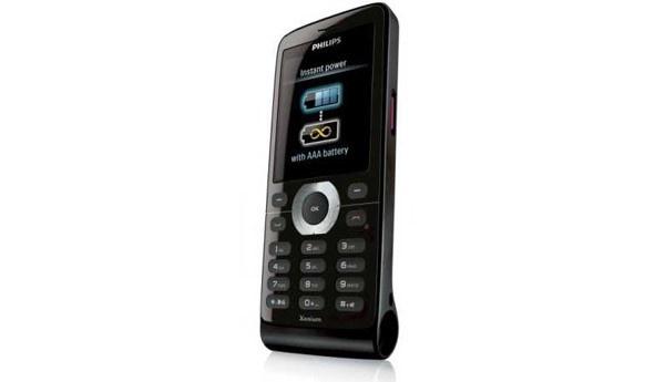 Philipsin Xenium X520 -puhelimelle lisävirtaa AAA-paristosta