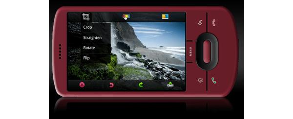 Adobelta Photoshop-mobiilisovellus Androidille