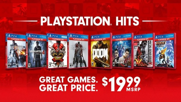 PlayStation Hits: Popular PS4 titles for $20