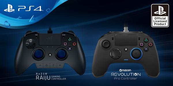 PlayStationille esiteltiin kaksi Pro-pelaajien ohjainta