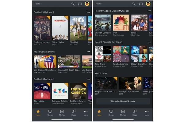 Plex päivittää mobiilisovellustaan, tuki podcasteille