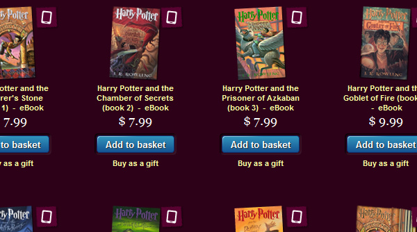 'Harry Potter' official ebooks now available on Pottermore