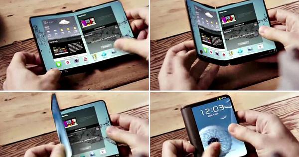 Samsung yllättää – Taipuva puhelin tulee jo ensi vuonna myyntiin