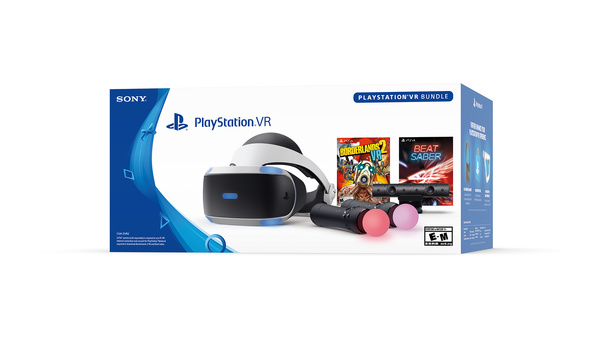 Sonylta uusi PlayStation VR -bundle-paketti huippupelillä