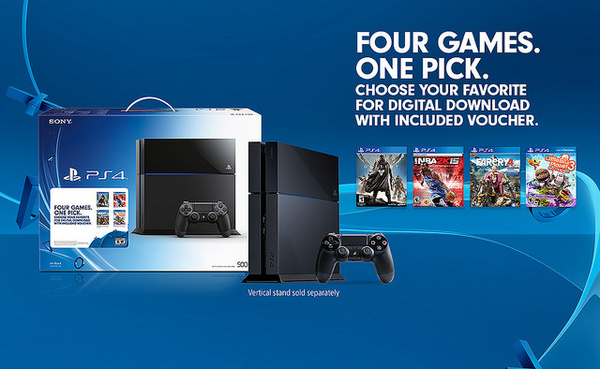 Sony will now let you create your own PS4 bundle