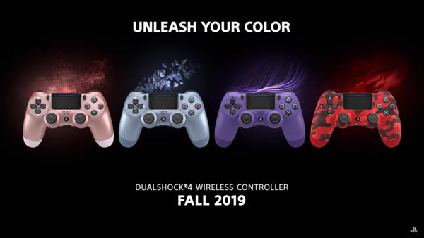 Sony julkaisi uusia PS4-ohjaimia uusilla väreillä