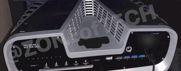 Vuotaneet kuvat vahvistavat PlayStation 5:n prototyypin ulkonäön