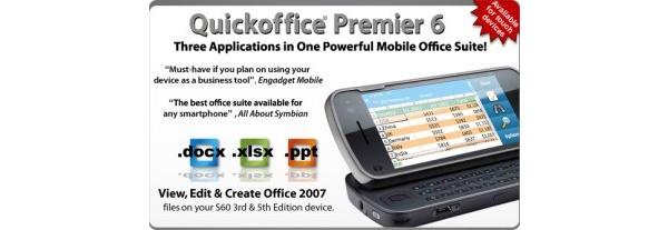 Ilmainen Quickoffice-päivitys saataville Nokian kaikille älypuhelimille