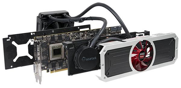 AMD julkaisi Radeon R9 295X2 -näytönohjaimen