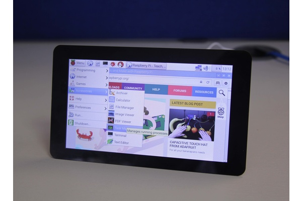 Raspberry Pi gets an official touch display priced at $60