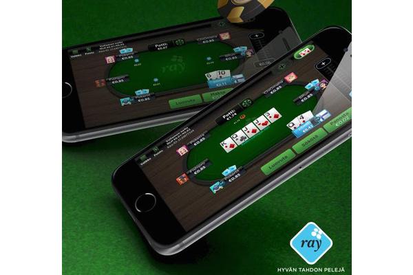 RAY julkaisi pokerisovelluksen Androidille ja iOS:lle