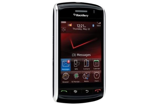 RIM:n Blackberry Storm tarjoaa erilaisen kosketusnäytön