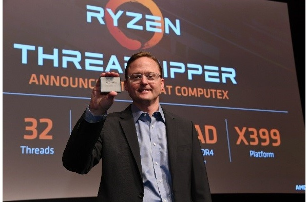 AMD reveals new Threadripper CPUs to challenge Intel's i9
