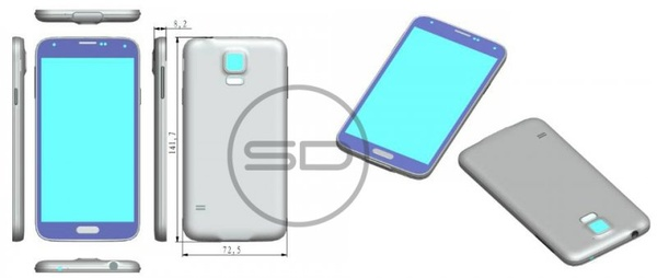 Samsung Galaxy S5 to have larger screen, fingerprint sensor