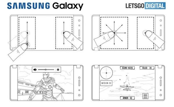 Samsungin patentti kertoo kahdella näytöllä varustetusta pelipuhelimesta?