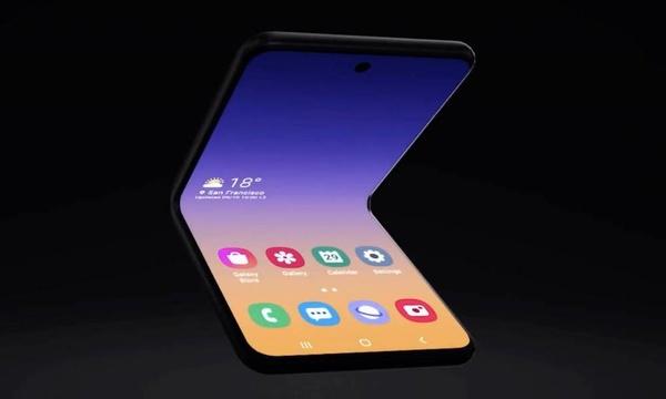 Simpukkapuhelimet tulevat taas? Samsung esitteli uutta puhelinta taittuvalla näytöllä