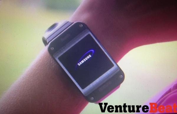 Kuvassa: Samsung Galaxy Gearin prototyyppi
