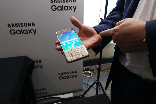 Todellisille tekstaajille: Galaxy S6 edge+ sai lisälaitenäppäimistön