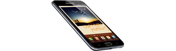 Samsung Galaxy Notea on toimitettu viisi miljoonaa kappaletta