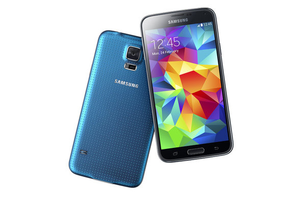 Samsung rehauls design for Galaxy S5, adds fingerprint scanner, heart rate monitor, more powerful specs