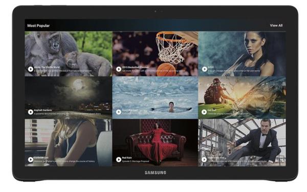 Tältä näyttää Samsungin massiivisen suuri View-tabletti