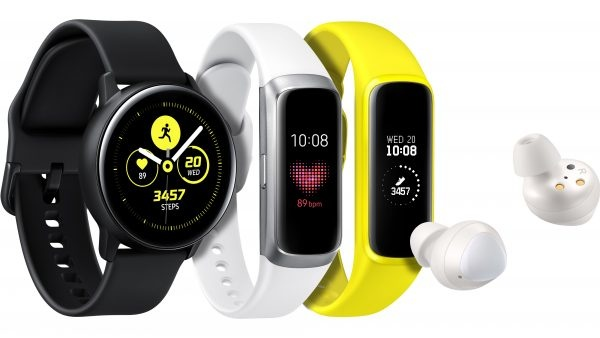 Samsung unveils Galaxy Watch Active, Galaxy Fit and Galaxy Buds wearables