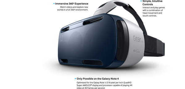Samsung's Gear VR headset to go on sale next month